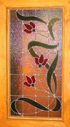 VITRAIL ARMOIRE Antique Stained Glass Windows, Stained Glass Paint, Stained Glass Flowers, Stained Glass Designs, Stained Glass Panels, Stained Glass Projects, Stained Glass Patterns, Leaded Glass, Glass Painting Patterns