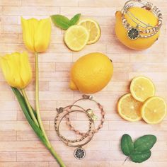 ALEX AND ANI CHARITY BY DESIGN Zest For Life Charm Bangle | Energetic • Bright • Confident | Alex's Lemonade Stand Foundation