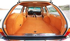 If the lurid orange estate car is rocking, don't come knocking: vintage Mercedes station wagon tricked out by California's Mercedes Motoring