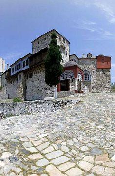 The Holy Monastery of Pantocrator, Mount Athos, Greece