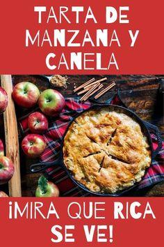 Tarta de manzana fácil - El pastel más delicioso ¡Qué rica torta! Guacamole, Banana Bread, Bakery, Mango, Sweets, Beef, Chicken, Cooking, Austria