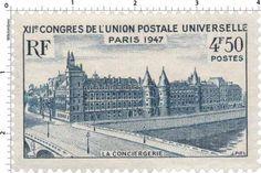 France Stamp - La Conciergerie - Paris (1947)