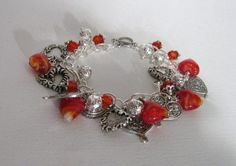 Hearts With Hearts - Jewelry creation by Linda Foust