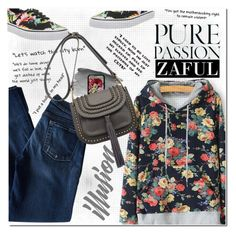 Sporty but Floral by vanjazivadinovic on Polyvore featuring 7 For All Mankind, Vans, Forever 21, women's clothing, women's fashion, women, female, woman, misses and juniors