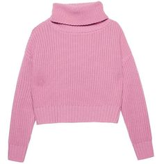 Roly Poly Jumper (14605 RSD) ❤ liked on Polyvore featuring tops, sweaters, outerwear, shirts, jumpers sweaters, jumper top, pink jumper, merino shirt and pink top