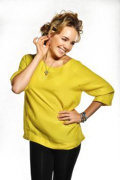 Lucie Vondráčková - 3 Bell Sleeves, Bell Sleeve Top, One Shoulder, Tunic Tops, Blouse, Women, Fashion, Moda, Fashion Styles