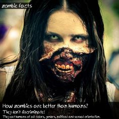 Zombie Facts #1, more on GreyZombie.com