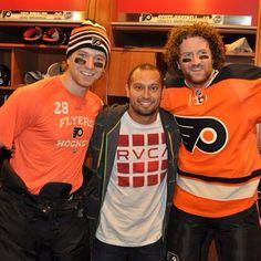 Flyers & Phillie meet Claude Giroux, Shane Victorino, & Scott Hartnell