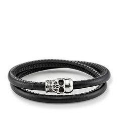 Bracelet de cuir \u2013 UB0010 \u2013 Hommes \u2013 THOMAS SABO