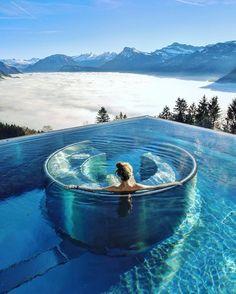 Hotel Villa Honegg - Ennetbürgen #Switzerland