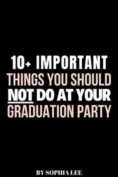 I was originally searching for graduation party decor but now I learned so much more for my sons graduation party! Really glad to have read this.