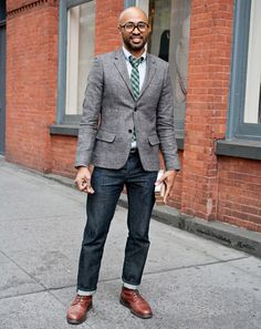 New York Street Style Photos by Ben Ferrari - Men's Street Style: Style: GQ