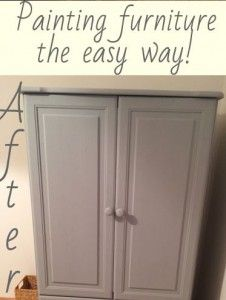 DIY Project - Painting Furniture