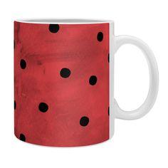 Georgiana Paraschiv Flamenco Dots Coffee Mug   DENY Designs Home Accessories