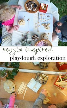 Reggio-inspired Play dough Activity
