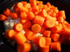 ingredienten hutspot in de slowcooker Healthy Slow Cooker, Healthy Crockpot Recipes, Slow Cooker Recipes, Cauliflower Fritters, Dump Dinners, Multicooker, Healthy Meals For Two, Vegan Vegetarian, Food To Make