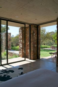 On the outskirts of the town of Marble Hall in South Africa, bordered by natural bush, this m...