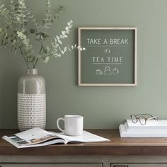 Room Wall Colors, Workspace Inspiration, Green Rooms, Home Office Decor, Home Decor, Transitional Decor, Baby Decor, House Painting, Home And Living