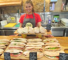 All wrapped up & ready to go in the Deli at Jamie's Italian, Milsom Place