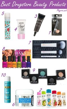 Best Cruelty Free Drugstore Beauty Makeup and Hair Products-via Phyrra-Beauty for the Bold. One of my fave cruelty free bloggers: check out phyrra.net!