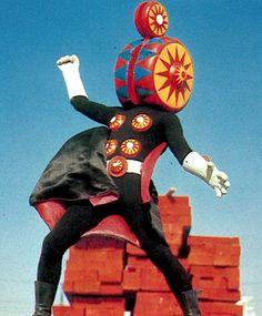 """Yo-yo Mask (ヨーヨー仮面)from """"Himitsu Sentai Goranger"""" 1976"""