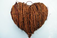 Solid grapevine salim heart ready to decorate £2.49 http://www.daisyshop.co.uk