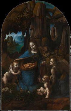 The Virgin of the Rocks - da Vinci Leonardo Date: 1505; Florence, Italy Style: High Renaissance Genre: religious painting Media: oil, panel