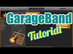 GarageBand Tutorial for Beginners - Record Audio Vocals, Edit, and Export to Record Audio, Grace Music, Green Play, Garageband, Music Software, Usb Microphone, Old Music, Vintage Music, Youtube