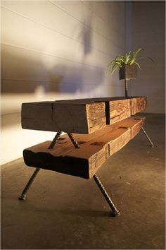 Woodworking Coffe Table Design Ideas - One of the most important furniture in the living room is the coffee table. The Woodworking Coffe Table Design Reclaimed Wood Furniture, Rustic Furniture, Cool Furniture, Furniture Design, Furniture Ideas, Western Furniture, Furniture Removal, Furniture Outlet, Furniture Stores