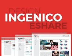 "Check out new work on my @Behance portfolio: ""Ingenico - eShare- SharePoint"" http://be.net/gallery/40431549/Ingenico-eShare-SharePoint"