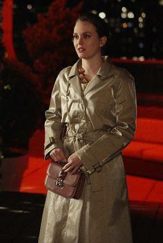 5x24 Cute coat. Naeem Khan dress. Valentino bag.