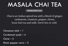 PERFECT MASALA CHAI TEA RECIPE