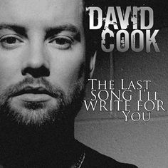 """David Cook will sing a NEW song, """"The Last Song I'll Write For You"""", on American Idol on May 10th, one week from today! Mark your calendars, circle it, highlight it, then get your a** in your seats. : D"""