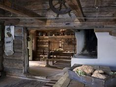 Old Norwegian cabin