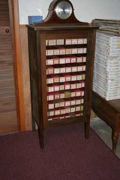 Player Piano Roll Cabinet | Flickr - Photo Sharing!