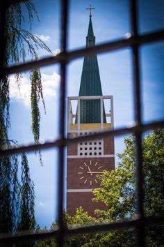 """Ein weiteres Bild aus unserem aktuellen CEWE Fotowettbewerb. """"Stadtkirche hinter Gittern"""" von Texi"""