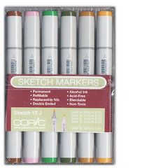 Copic - Sketch Marker Set - Landscape