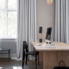 Kinfolk offices - impractical comfort, but beautiful aesthetics. I love Prouve, but that's not a chair I want to sit in for 8 hours.