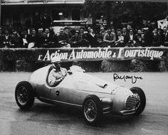 F1 1950 - Extra-championship - French GP - Pau - Simca/Gordini - Robert Manzon