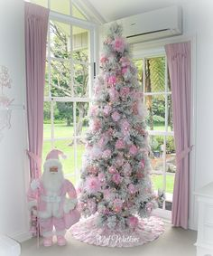 My shabby chic Pink Christmas Tree 2016 <3 More