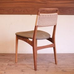 Remake / papercode & canvas chair / used item | fingermarks