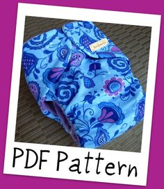 I've been doing some researching and this looks like the pattern I'm going to use for my newborn cloth diapers