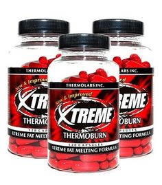 3 X ThermoBurn Xtreme 120 Ct. (24mg Ephedra)