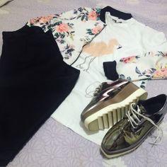 Hoje tem look do dia lá no cantinho, que tal nos fazer uma visita? Estou te esperando. ;) http://jeanecarneiro.com.br/t-shirt-flamingo-zaful/ #lookdodia #dujour #fashion #style #estilo #fashionblogger #coletivossabloggers #ssabloggers #zaful #rosegal #banggood #resenha #review #tshirt #flatform #oxford #divajoiascontemporaneas
