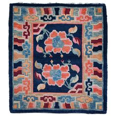 Antique and Modern Chinese and East Asian Rugs and Carpets - For Sale at Interior Rugs, Bohemian Interior, Bohemian Rug, Tibetan Dragon, Lotus Flower Design, Asian Rugs, Tibetan Rugs, Chinoiserie Chic, Oriental Pattern