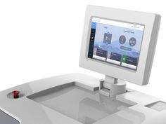 Medical Laser Device App by Ray Sensenbach Laser Medical, Touch Tablet, New Industries, Medical Devices, Medical Equipment, Interface Design, App, Apps, User Interface Design