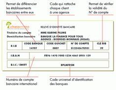 Code Rib Releve D Identite Bancaire Ou Rip Releve D Identite