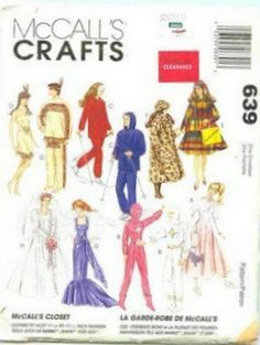 McCalls Crafts # 639 pattern and instructions are included and free