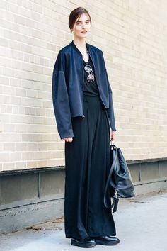 ブルゾンシャツデニムetc.. NYモデルが偏愛するシックなカジュアルスタイル