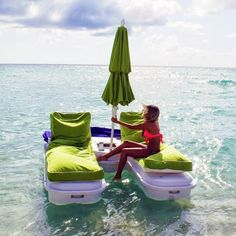 A great way to relax on the sea! Just make sure you don't fall asleep as who knows where you'll end up!